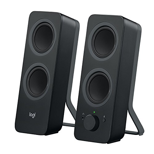 (Logitech Z207 2.0 Multi Device Stereo Speaker (Black) )