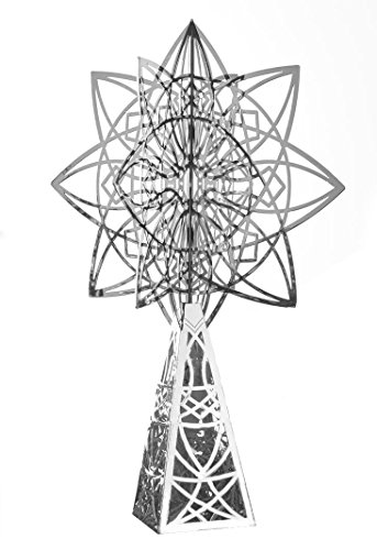 - Frank Lloyd Wright Luxfer Silver Plated Christmas Tree Topper Gift