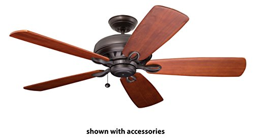 Emerson Lighting CF5100ORB Penbrooke Oil Rubbed Bronze Ceiling Fan, Blades Sold Separately ()