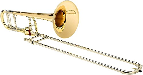 Brass Bell F-series Bell (S.E. SHIRES TBQ30YA Q-Series Axial F-Attachment Trombone Lacquer Gold Brass Bell)