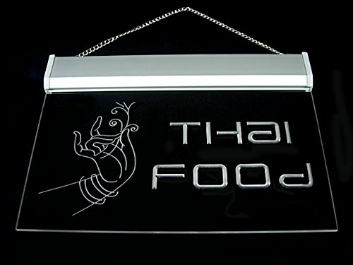 Thai Food Thailand Restaurant Tom Yam Kung Cafe Led Light Sign by DIDIGO