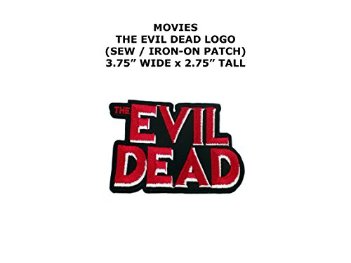 Thriller Diy Costume (The Evil Dead Zombie Horror DIY Embroidered Sew or Iron-on Applique Patch Outlander)