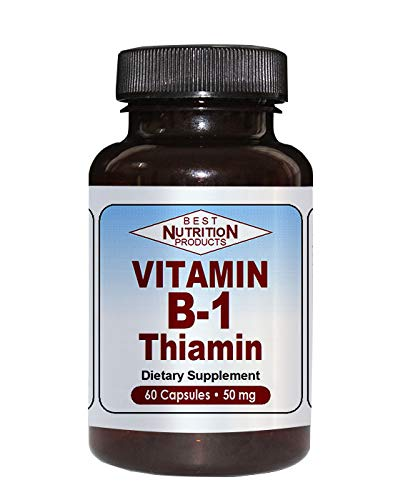Vitamin B-1 Thiamin (50mg – 60 Capsules)