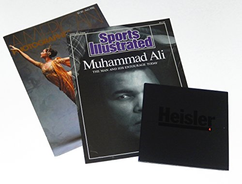 Gregory Heisler: Three Promotional Booklets, 1986-1991, including Muhammed Ali, The Man and His Entourage Today