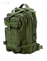 MY LIFE Sport Outdoor Hiking Bag Military Rucksacks Tactical Molle Backpack Camping Great Gift fOr the One Who Love Camping- Green