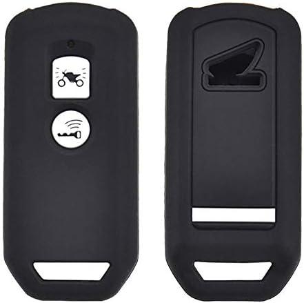 Custodia in Silicone per Chiave Telecomando Honda PCX 150 Ibrida X-ADV SH125 Scoopy SH300 Forza 125 300 2018 2019 Moto Scooter 2 Pulsanti Smart Motor Key Cover