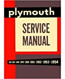 1946 1951 1952 1953 1954 PLYMOUTH Shop Service Manual