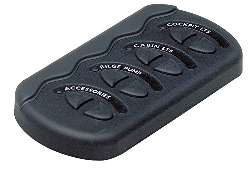 - BEP Contour Generation II Spray Proof Switch Panel 4W No Fuse MC10