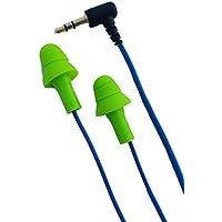 Workinbuds Green/Blue Earplug Earphones/Noise Reduction Headphones: Work Earbud Earplugs