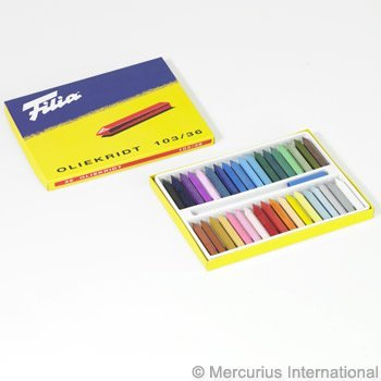 Filia oil crayons series 103 - 36 colours assorted by Stockmar