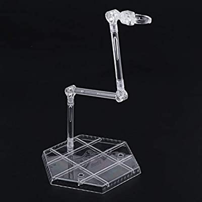DYNWAVE Flexible Doll Stand, Clear Doll Display Holder for1/6 BJD Dolls and 12inch Action Figures Doll Accessories: Toys & Games