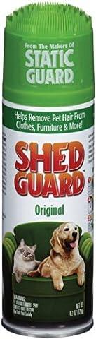 Shed Guard Pet Hair Removal, Original Scent, 4.2 oz (Carpet Static)