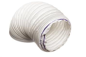 6 metre kunststoff flexibler abluftschlauch weiss tischdecke aus