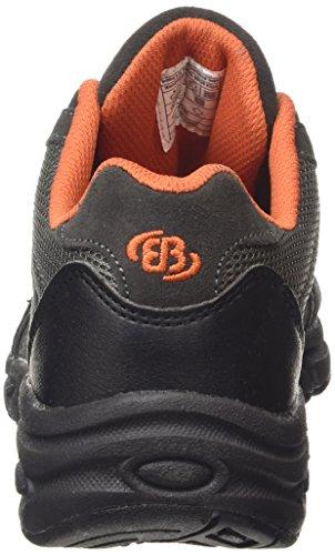 Bruetting Circle - Zapatos para caminar de material sintético mujer gris - Grau (anthrazit/orange)