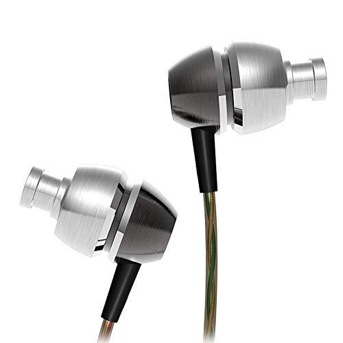 GUJIAO QKZ X8 Auriculares Bajo Auricular Doble Moding Metal Auricular En La Oreja Profesional Balanceada para DJ/Pop/Rock con...