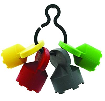 Neoperl 11 9110 5 Cache Plastic Clip with 4 Keys, 1 of Each Size Key