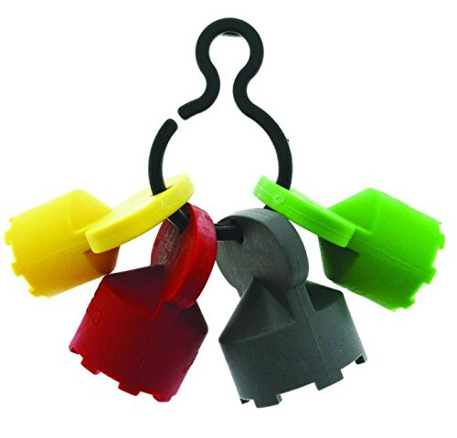 Neoperl 11 9110 5 Cache Plastic Clip with 4 Keys, 1