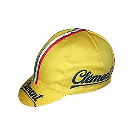 Apis Cappellino Ciclismo Team Vintage Clement Cycling cap HOSTED BY PRO   Line 251016eabe5c