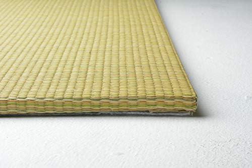 い草 置き畳 shiki-6565-9(H) 約65×65×1.5cm 同色9枚セット イエロー コンパクト 縁なし 滑り止め付 軽量タイプ