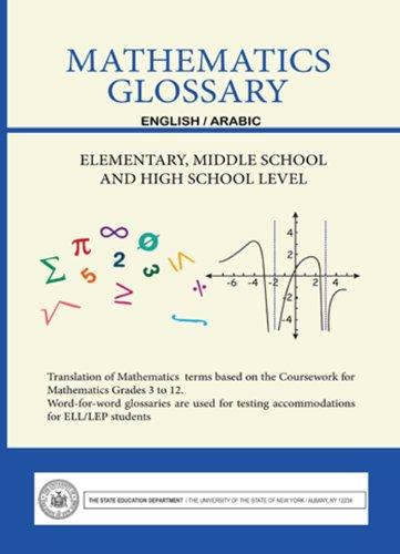 Mathematics Glossary - English/Arabic - Elementary, Middle School and High School Level
