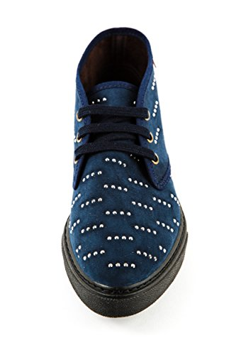 World Stringate Natural 36 Blu Donna Scarpe Blau 7ppAwdxqE