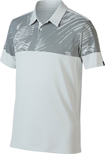 Oakley Mens Offset Palm Polo Shirt Small Light - Dealer Oakley