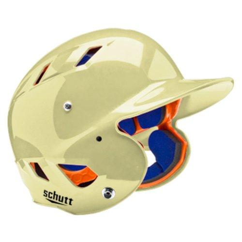 Schutt Sports AiR 5.6 Softball Batter's Helmet, Metallic Vegas Gold, Small ()