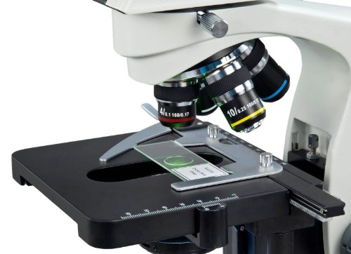 OMAX 40X-2000X LED Trinocular Compound Microscope with Reversed Nosepiece and 30 Degree Siedentopf Viewing Head and 9.0MP USB Camera