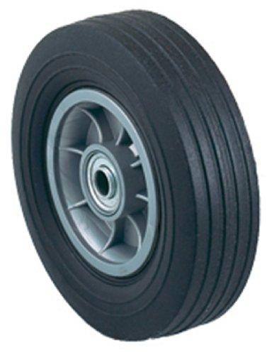 Harper camiones Wh 14flat-free hule sólido 8-Inch por 2–1/4-inch rodamiento de bolas rueda de carretilla de mano