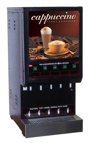 Grindmaster-Cecilware 5K-GB-LD 5-Flavor Hot Powder Beverage Dispenser, ()
