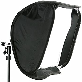 DMKFoto Softbox for Speedlight and Flash with Stand