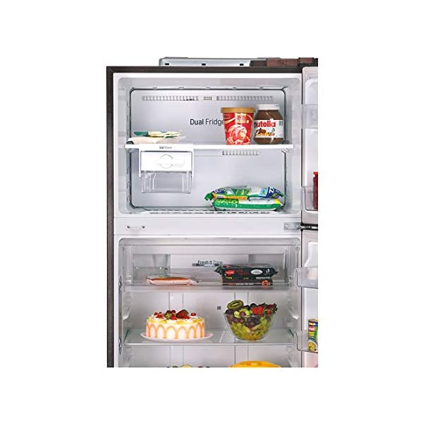 LG 437 L 3 Star Wi-Fi Inverter Linear Frost-Free Double-Door Refrigerator (GL-T432FASN, Amber Steel, Convertible) 2021 July Important note : This product is 4-star rated as per 2019 BEE rating and 3-star rated as per 2020 BEE rating Energy Rating: 3 Star | Best for Middle size family Warranty: 1 year on product, 10 years on compressor