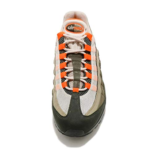 Nike Air Max 95 OG Mens Running Trainers AT2865 Sneakers Shoes (UK 4 US 4.5 EU 36.5, String Total Orange 200)