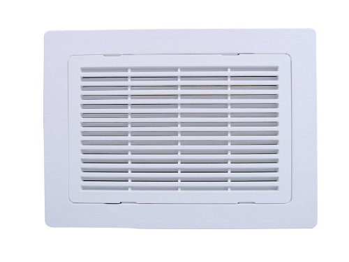 9 in louvered vent - 1