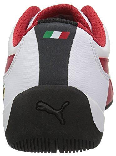 Puma Uomo Ferrari Drift Cat 7 Sneaker Puma Bianco-rosso Corsa-puma Nero