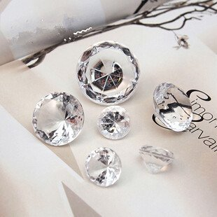 1728Pcs Mixed Sizes Gems Confetti Culet Faceted Crystal Diamond By Crystal Gems