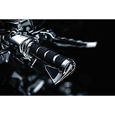 Kuryakyn 6354 Motorcycle Handlebar Accessory: Kinetic Throttle Boss, Universal Fit with Kuryakyn Kinetic Grips, Chrome, Pack of 1: Automotive