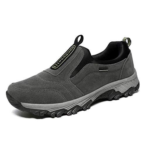 e Shoes Sneakers Medioevo Slip escursione Scarpe H amp; Papa da Lazy libero da tempo uomo Mocassini H il per esterni per Grigio xqA6xUB