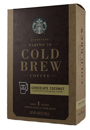 Starbucks - Cold Brew Coffee - Chocolate Coconut - Soil Coffee and Flavor Packet