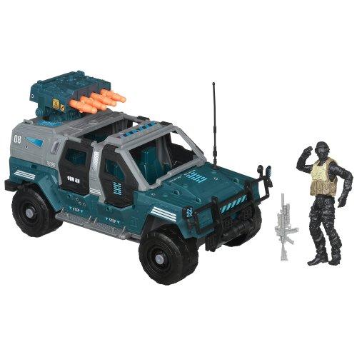Gi Joe Storage - G.I. Joe Retaliation Ninja Combat Cruiser Vehicle with Night Fox Figure