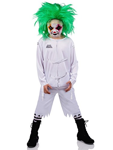 [Psych Ward Costume for Kids] (Child Straight Jacket Costume)