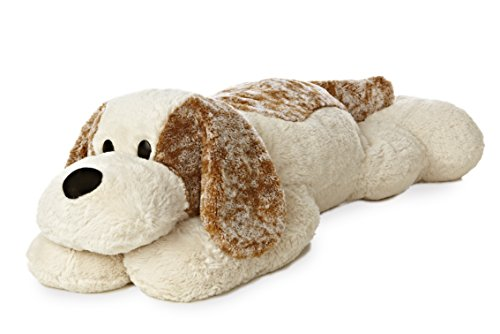 Aurora World Super Flopsie Big Scruff Dog Plush (Stuffed Big Dog Plush)