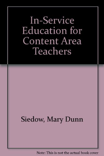 In-Service Education for Content Area Teachers