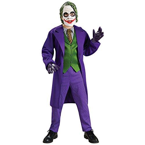Deluxe Joker Costume - Small (Joker Fancy Dress Costumes)
