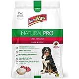 Ração Baw Waw Natural Pro para cães adultos sabor Carne e Arroz - 10,1kg