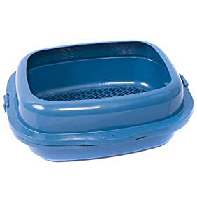 Favorite High Sided 2 Pine Sifter Cat Litter Box