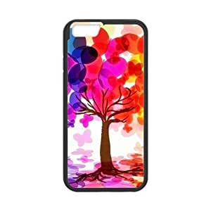 Colorful Butterfly Tree Case for iPhone 6