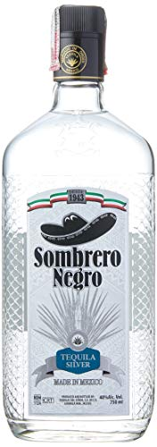 Tequila Sombrero Negro Silver 750ml