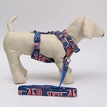 Puppy Harness In Union Jack Pattern Wire Center