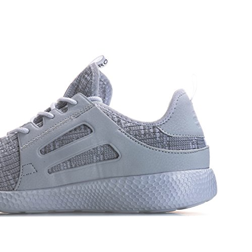 CROSSHATCH Herren Sneaker Turbo Weiß & Grau